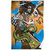 el arte de la calle Poster