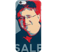 "Gaben Propaganda ""SALE"" iPhone Case/Skin"