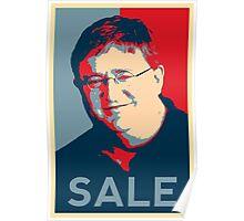 "Gaben Propaganda ""SALE"" Poster"