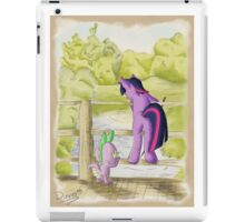 Twilight and Spike in Hundred Acre Wood iPad Case/Skin