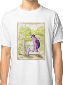 Twilight and Spike in Hundred Acre Wood Classic T-Shirt