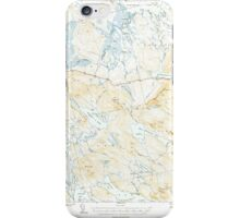 Maine USGS Historical Map Scraggly Lake 460841 1941 62500 iPhone Case/Skin