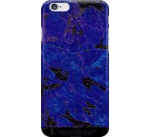 Maine USGS Historical Map Scraggly Lake 460842 1941 62500 Inversion iPhone Case/Skin