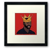 King Kolo Toure Framed Print