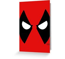 Heros - Deadpool Greeting Card