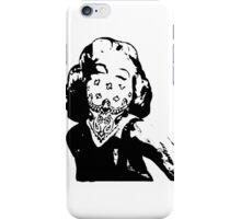 Gansta Marilyn Monroe iPhone Case/Skin