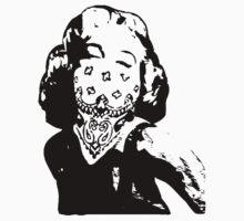 Gansta Marilyn Monroe by Cinemadelic