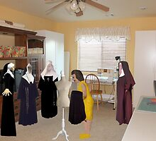 Marian finds her job is seriously habit-forming! by Susan Littlefield