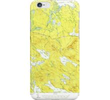 Maine USGS Historical Map Scraggly Lake 460842 1941 62500 iPhone Case/Skin