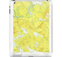 Maine USGS Historical Map Scraggly Lake 460842 1941 62500 iPad Case/Skin