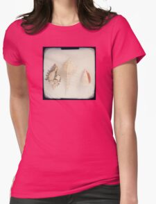 Shell trio Womens Fitted T-Shirt