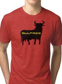 Bultaco Bull Tri-blend T-Shirt