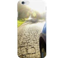 Subaru WRX country road iPhone Case/Skin