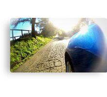Subaru WRX country road Canvas Print