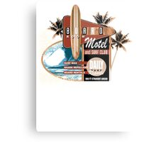 surf motel Metal Print