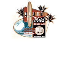 surf motel Photographic Print