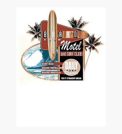 surf motel Photographic Print