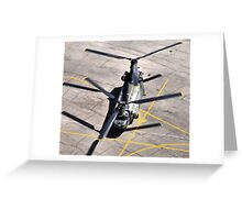 CH 47 Chinook Greeting Card