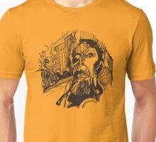 Man on the road Unisex T-Shirt