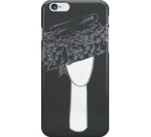 hat with grapes iPhone Case/Skin