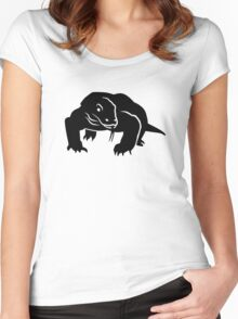 Komodo dragon Women's Fitted Scoop T-Shirt