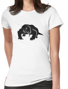 Komodo dragon Womens Fitted T-Shirt