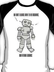 Robot Machines Black T-Shirt