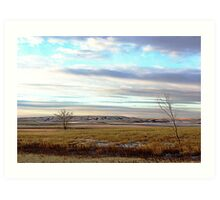 The Prairies (1) Art Print