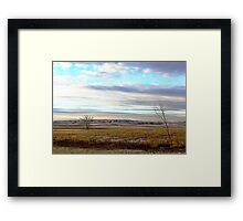 The Prairies (1) Framed Print