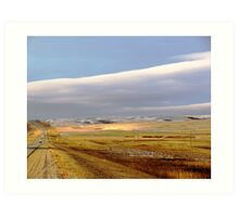 The Prairies (2) Art Print