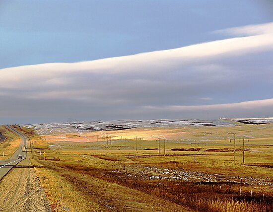 The Prairies (2) by George Cousins