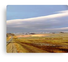 The Prairies (2) Canvas Print