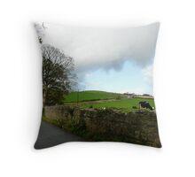 Cumbrian Cows Throw Pillow