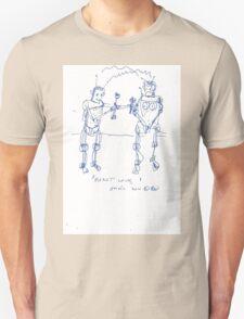 ROBOT LOVE(C2012) Unisex T-Shirt