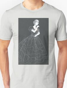 mourning dress with full skirt T-Shirt