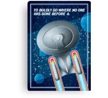 Star Trek - To Boldly Go II Canvas Print