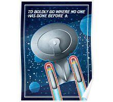 Star Trek - To Boldly Go II Poster