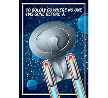 Star Trek - To Boldly Go II Photographic Print
