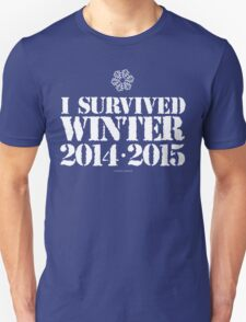 #I Survived Winter 2014, 2015 T-Shirt