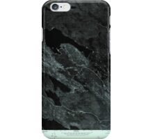 Maine USGS Historical Map Scraggly Lake SE 807132 1975 24000 iPhone Case/Skin