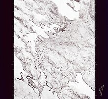 Maine USGS Historical Map Scraggly Lake SW 807133 1975 24000 Inversion by wetdryvac