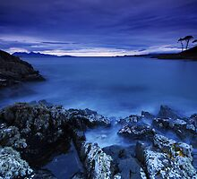 The Ghostly Sea - Arisaig by Douglas  Latham