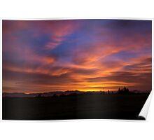 Oregon Sunrise Poster