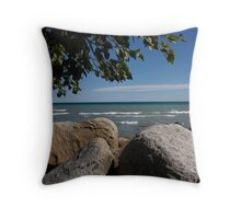 Lake Huron - One of the Greats Throw Pillow