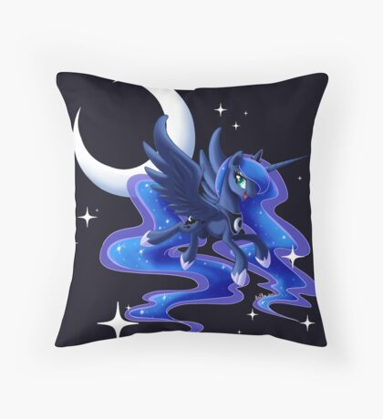 Princess Luna Throw Pillow