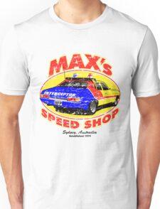 Mad Max's Speed shop Unisex T-Shirt