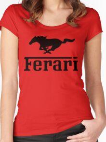 Funny Ferrari Shirt Women's Fitted Scoop T-Shirt