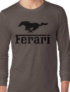 Funny Ferrari Shirt Long Sleeve T-Shirt