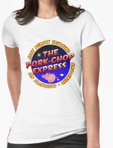 Pork Chop Express Jack Burton Trucking Womens Fitted T-Shirt
