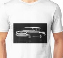 57 Chevy Wagon Unisex T-Shirt